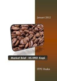 Market Brief : HS 0901 Kopi - ITPC Osaka
