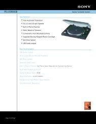 PS-LX300USB - US Appliance