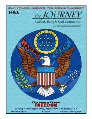 January-February 2005 - The Journey Magazine