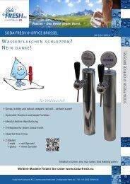 ... für Verbraucher - Soda Fresh Schweiz AG