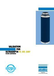 Ultradepth FF MF SMF englisch - Donaldson Company, Inc.