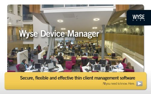 Wyse Device Manager