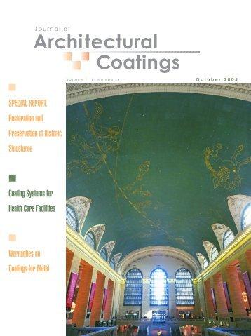 Architectural Coatings - PaintSquare