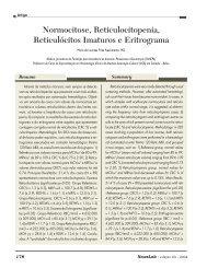 Normocitose, Reticulocitopenia, Reticulócitos Imaturos e ... - NewsLab