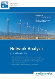 Network Calculation - Mettenmeier GmbH