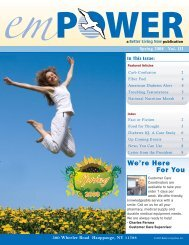 Spring 2008 - Better Living Now Health Education Guide