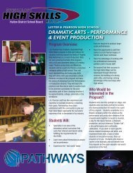 dramatic arts - performance & event production - Employer Registry