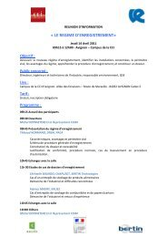 Programme - Environnement-Industrie