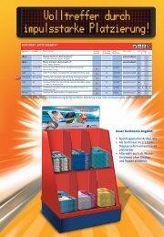 Unser Sortiments-Angebot: • Nachfragestarker Artikel-Mix • Als - Avery