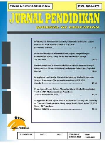 ISSN: 2086-4779 - perpustakaan universitas riau