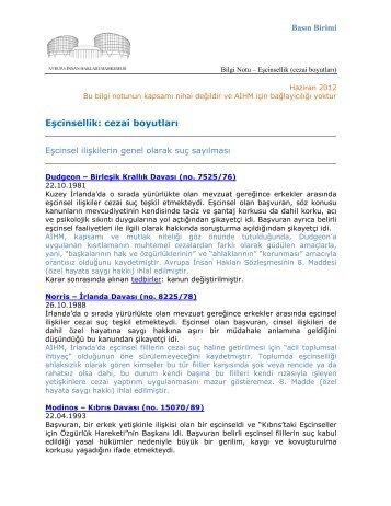 Eşcinsellik: cezai boyutları - Adalet Bakanlığı