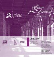 Programa Concierto Officium Defunctorum 2011 - Ayuntamiento de ...