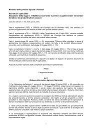 D.M. 31-07-2003 - Agenzia della Regione Basilicata per le ...