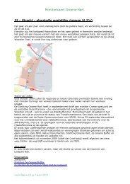 Utrecht – planstudie westelijke ringweg - Stichting Groene Hart