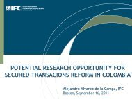 Secured Transactions Reform in Colombia - Innovations for Poverty ...
