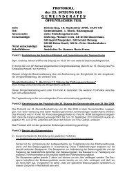 25. Sitzung (55 KB) - .PDF - Gablitz