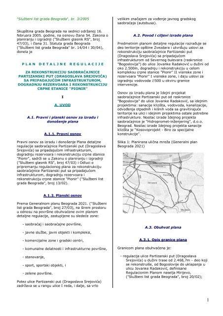 Tekst Urbanistia Ki Zavod Beograda