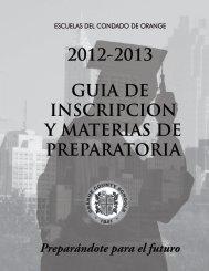2012-2013 guia de inscripcion y materias de preparatoria