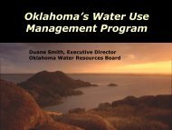 Oklahoma's Water Use Management Pyramid - Water Resources ...