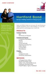 Hartford Bond is ranked in the top ten of surety & fidelity writers in ...