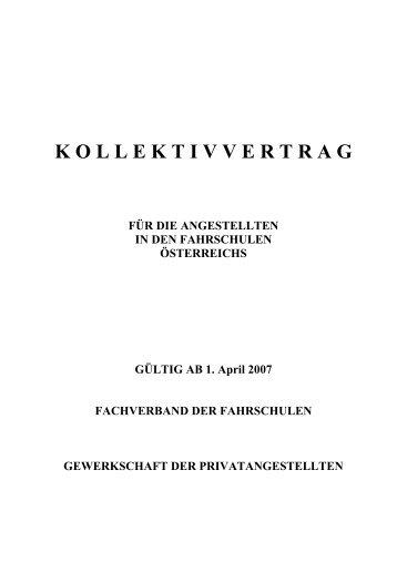 K O L L E K T I V V E R T R A G - Wirtschaftskammer Österreich