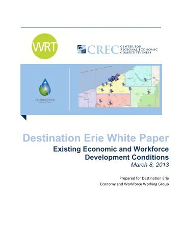 Economy and Workforce Working Paper - Destination Erie