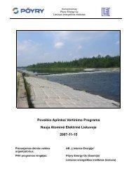 Poveikio aplinkai vertinimo programa - Visagino atominės elektrinės ...