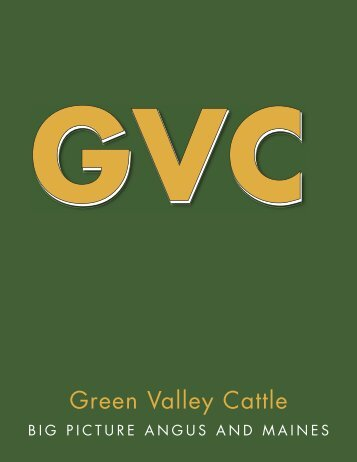 Green Valley Cattle - PrimeTIME AgriMarketing