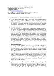 Asociación Nacional de Economistas de Cuba (ANEC ... - UPR Info