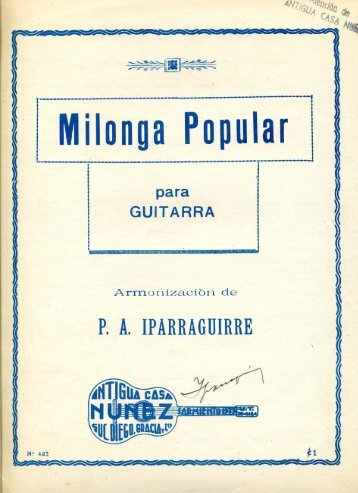 Milonga Popular - Just Classical Guitar Club