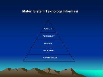 Materi Sistem Teknologi Informasi