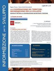 Newsletter n.64 - ITPCM - Scuola Superiore Sant'Anna
