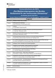 Kommunalkonferenz 2013: Vorläufiges Programm