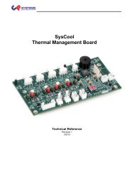 SysCool Manual - Chassis Plans