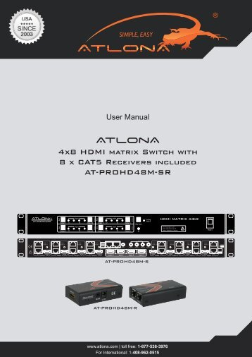 Manual - Atlona