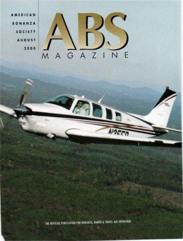 August 2000 - American Bonanza Society