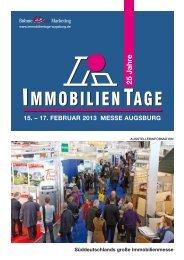Augsburger Immobilientage 2013 - B4B Schwaben