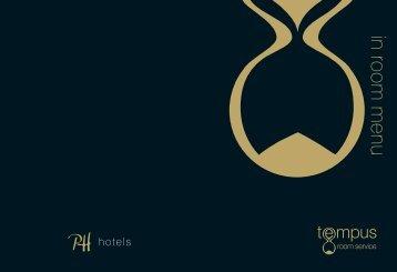 Download our Room Service Menu. - Principal Hayley