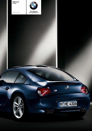 The BMW Z4 M Coupé - Vines