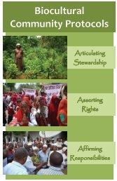 Biocultural Community Protocols - Natural Justice