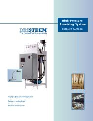 High-Pressure Atomizing System - VEMCO, Inc.