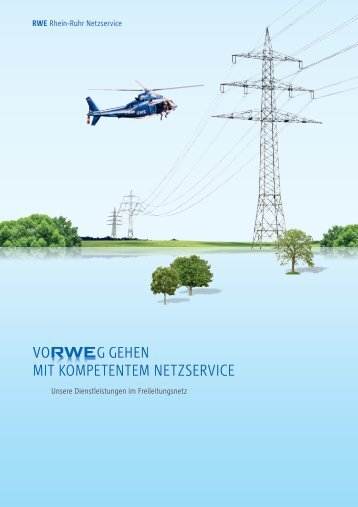 Dienstleistungen im Freileitungsnetz ( PDF | 1.5 MB )