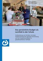 Das pers.nliche Budget....indd - Bundesvereinigung Lebenshilfe für ...