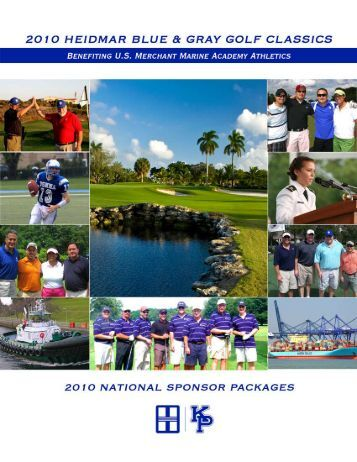Heidmar Blue & Gray Golf Classics - USMMA Alumni Association ...
