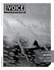 GEEK GUIDE - Sobo Voice