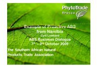 Example of Proactive ABS from Namibia - ABS Capacity ...