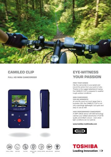 camileo clip - camcorder - CNET Content Solutions