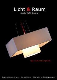 Licht-Raum Katalog 2009 (PDF 13MB)