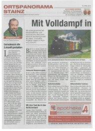 Mit Volldampf in - Schilcherland