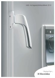 hűtő- és fagyasztókészülékek 2010